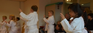 Jing Wu Kids grading day at the UCT Academy Almere