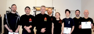 Practical Wing Chun training at Cambridge UK